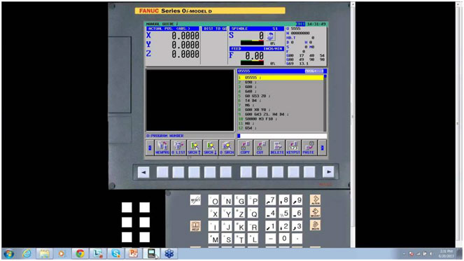 Fanuc CNC Control Software System Simulator in Mumbai Pune India